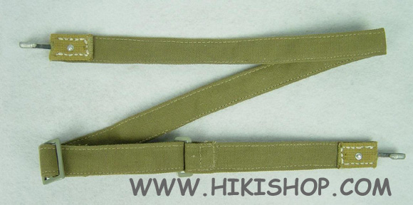 WW2 GERMAN TROPIC BREAD BAG STRAP DAK