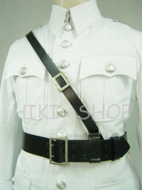 WW2 German officer Leather Cross Strap TOP QUALITY REPO