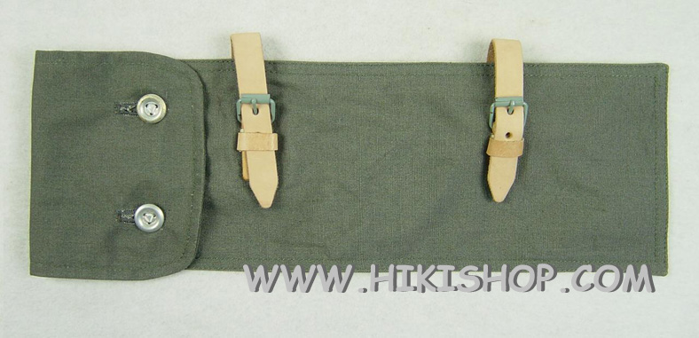WWII German Zeltbahnen Bag grey fabric Reproduction