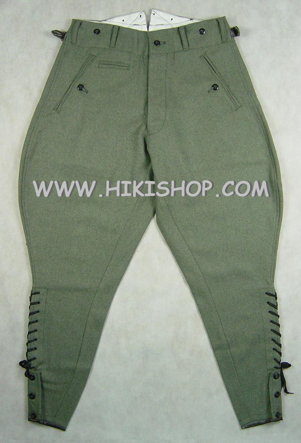 WW2 German Field Grey Wool Field breeches