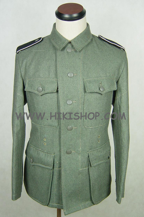 WWII German M42 EM Field Tunic Wool Elite