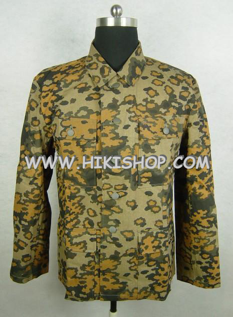 WWII German Elite OAK Camo M43 Field Tunic Jacket