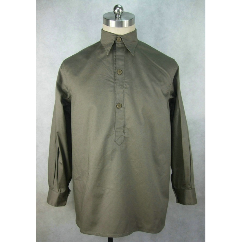 WW2 Italy Italian Camicia M1933 Cotton Service Shirt Gray