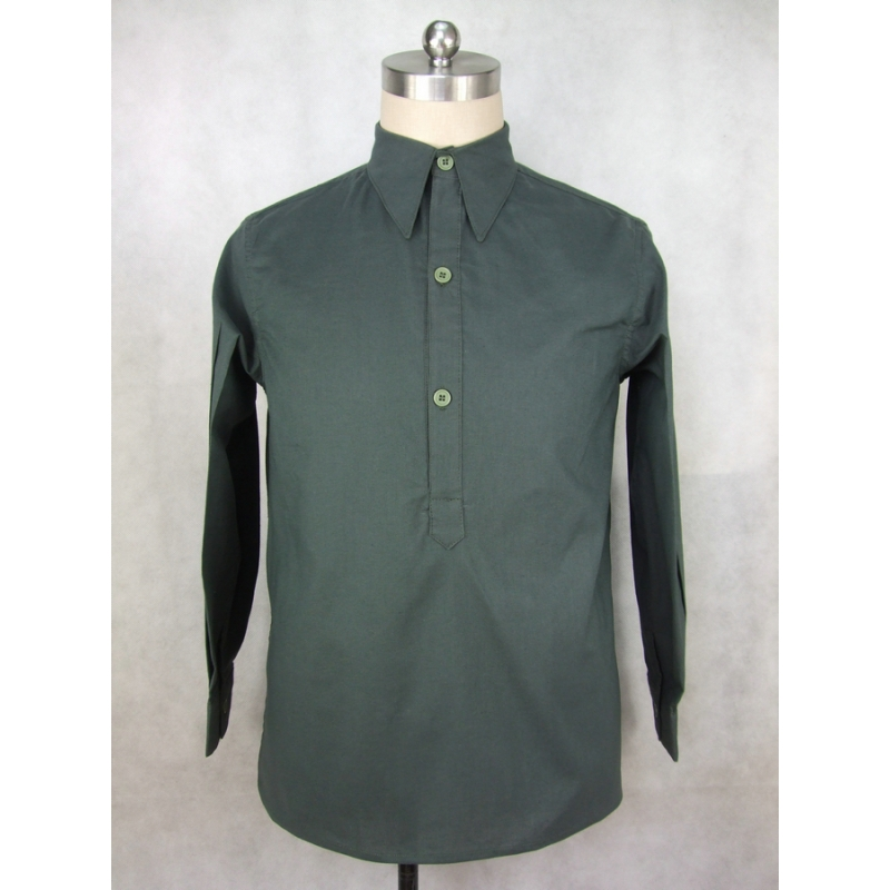 WW2 Italy Italian Camicia M33 Cotton Service Shirt Gray Green