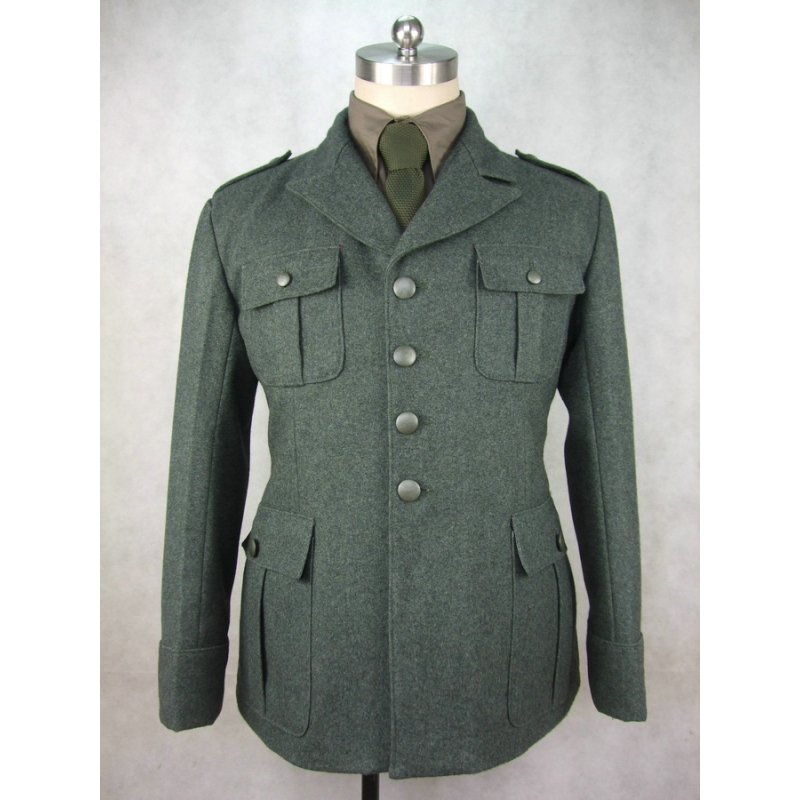 WW2 Italy Italian Officer M1940 Grey Green Wool Tunic Giubba