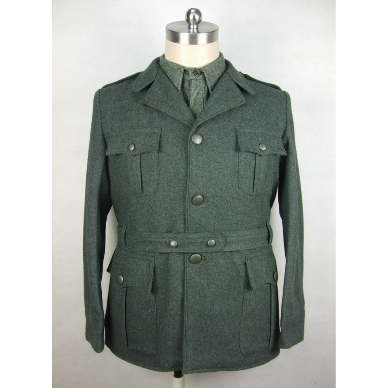 WW2 Italy Italian Troops M1940 Grey Green Wool Tunic Giubba