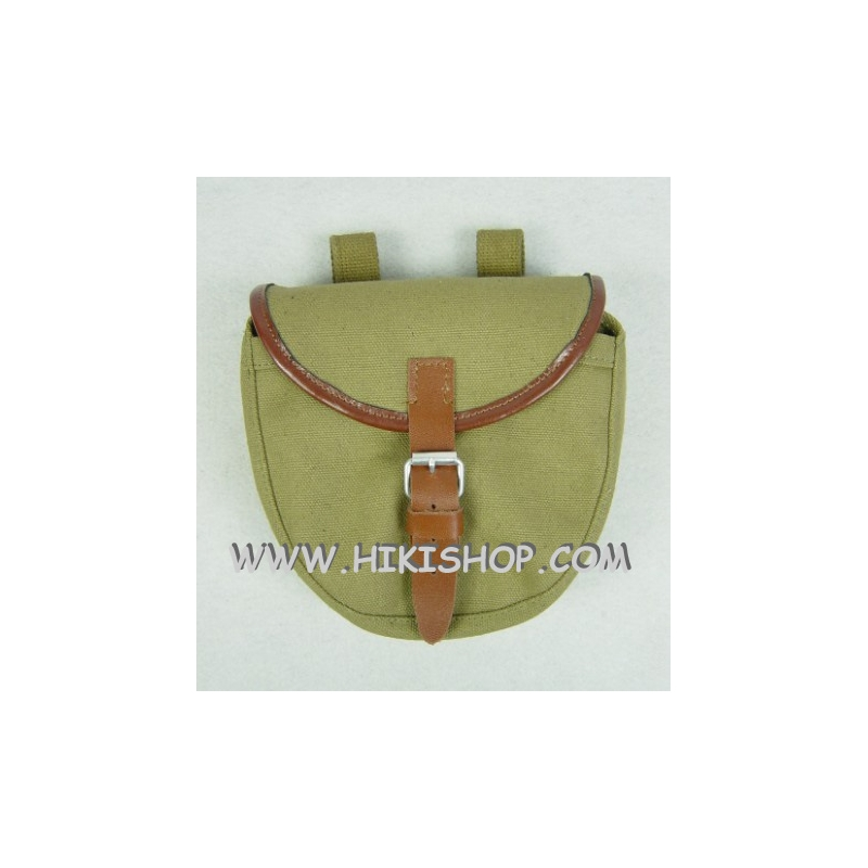 WW2 Soviet Red Army PPSH41 Drum Pouch Holder Light Green