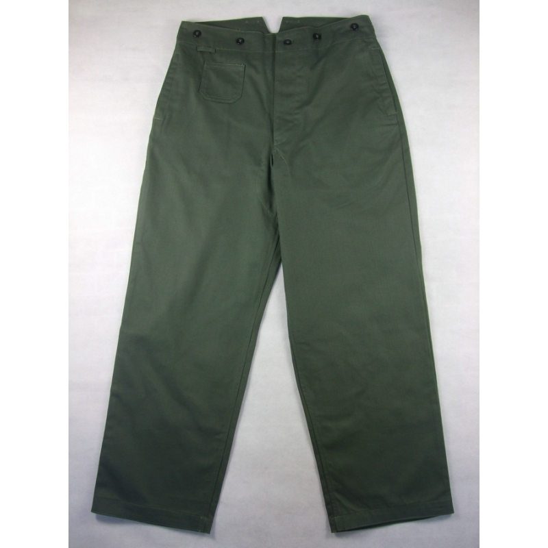 WWII German M37 M40 HBT Field Trousers Pants