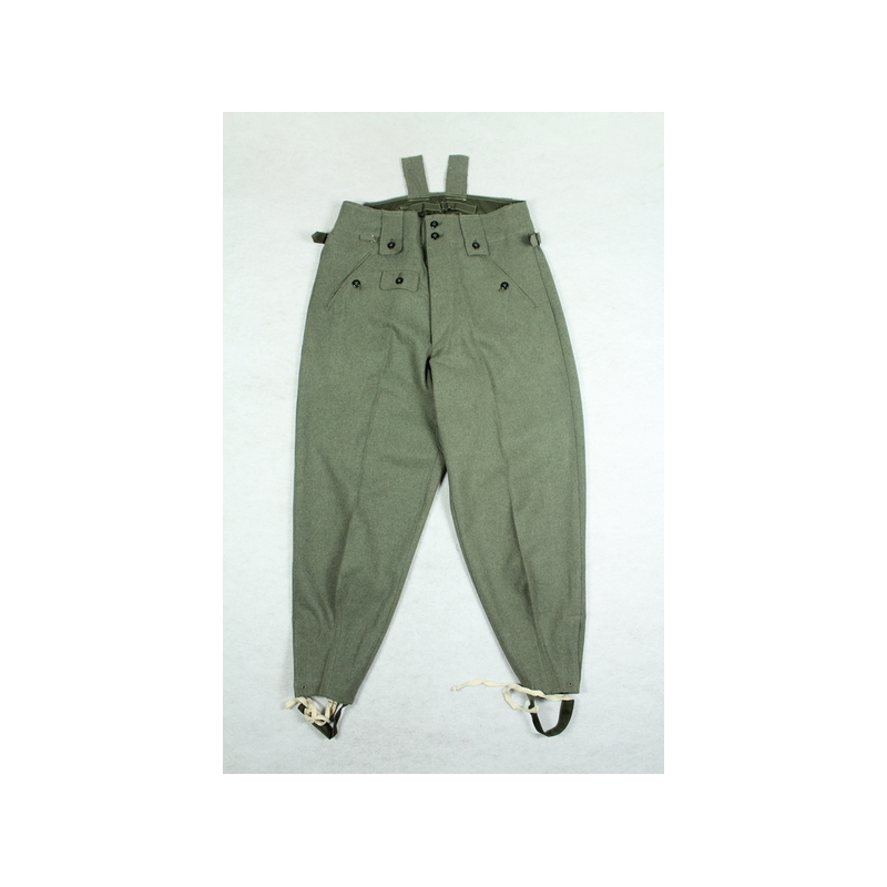 WW2 German M42 M43 Field Grey Wool Trousers Pants