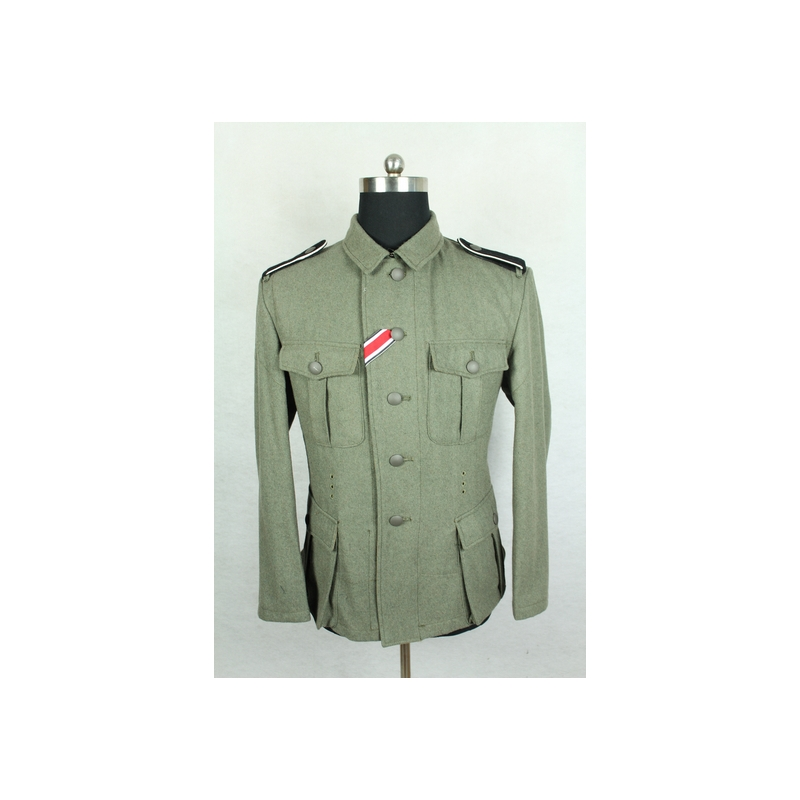 WWII World War 2 German M40 EM Fieldgrey Wool Field Tunic