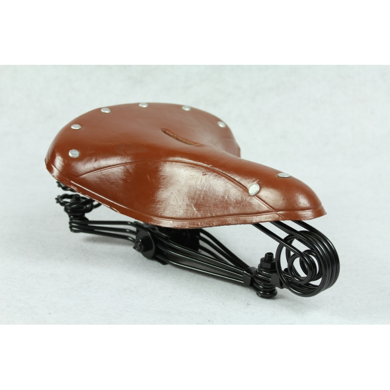 German Military Oldtimer Fahrrad Bicycle Saddle Sattel DarkBrown