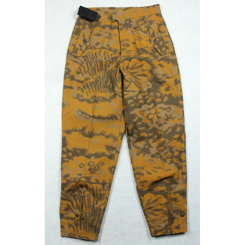 WWII German Palm Forest Camo Panzer Trousers Fall