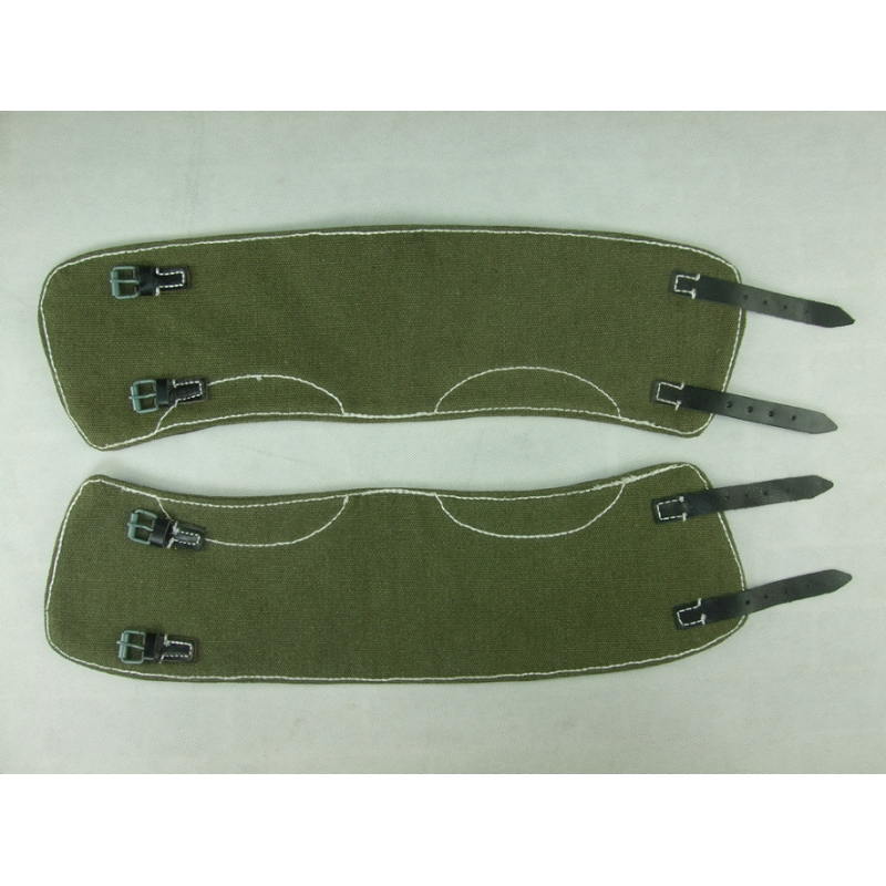 WW2 German Leggings Top Linen Green Extended + 10 CM