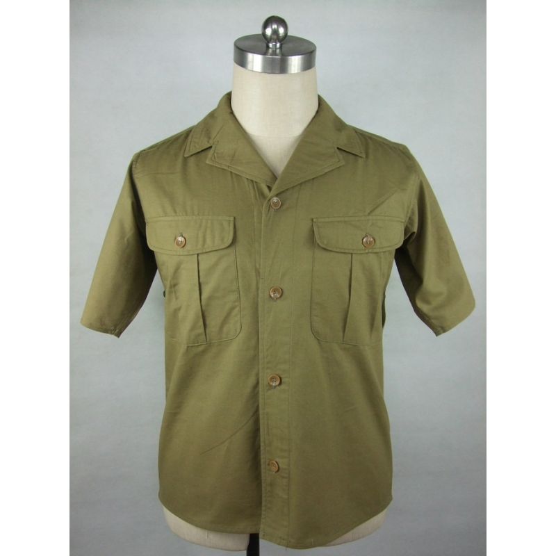 WWII WW2 Japanese Japan IJA Officer Half Sleeve Shirt
