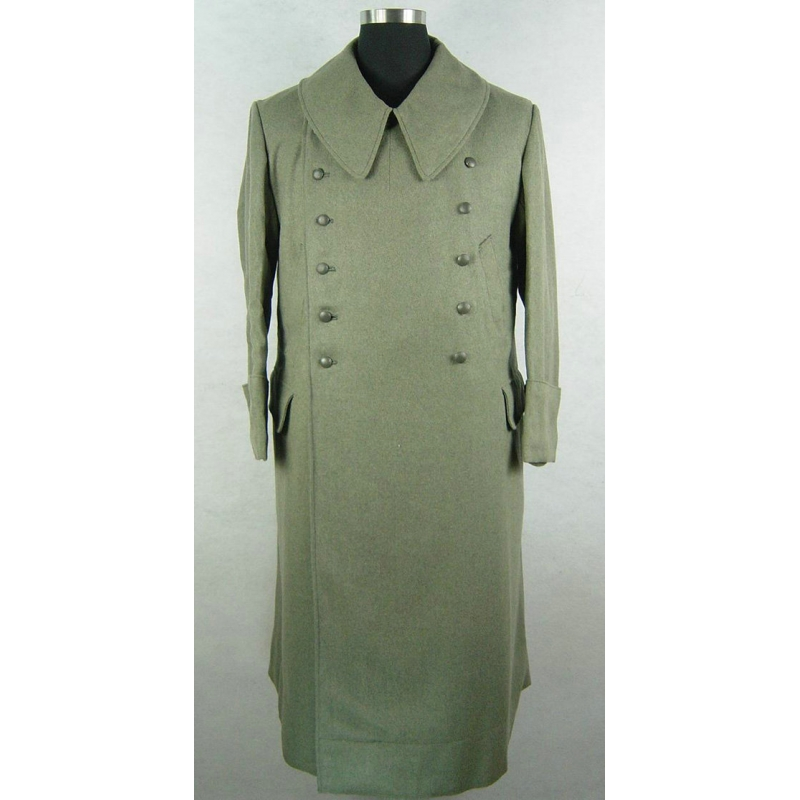 WWII World War 2 German Field Grey Wool M42 M43 Greatcoat
