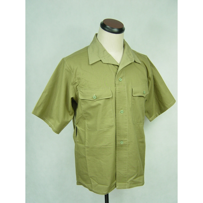 WWII Japanese Army IJA Tropics Half Shirt Cotton