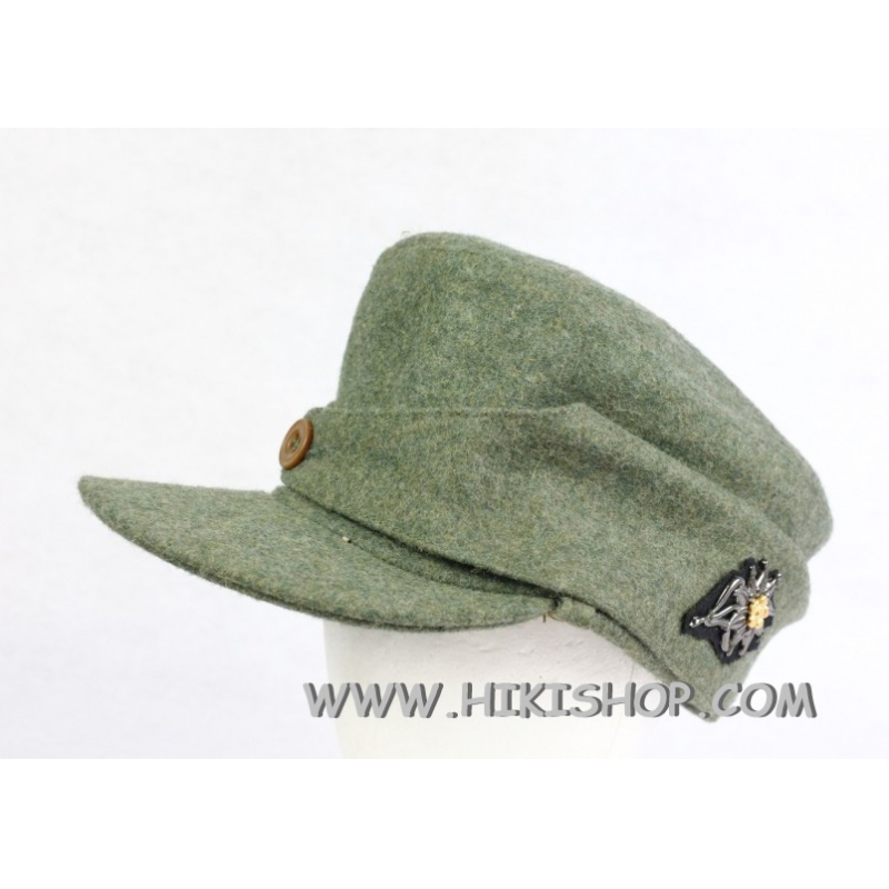 German Elite Mountain Troops Wool Field Cap EM
