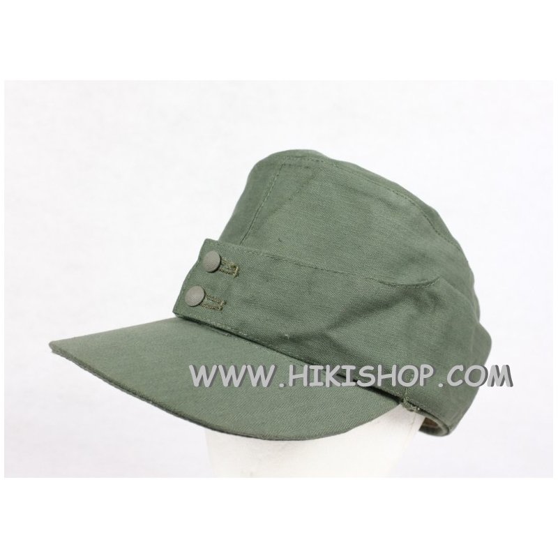 WWII German Elite EM Soldier HBT M43 Field Cap