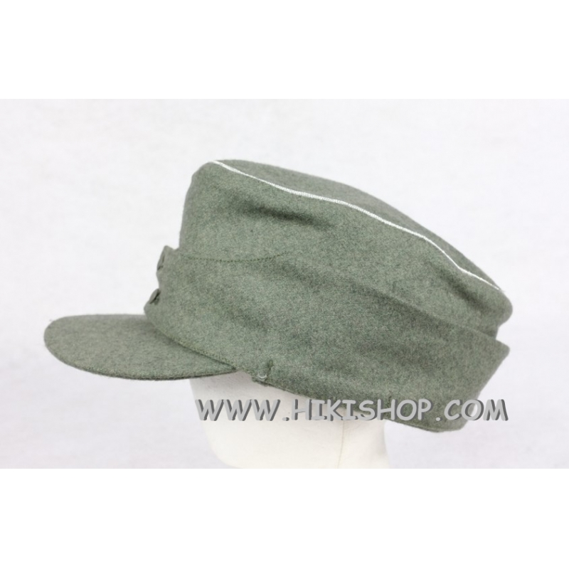 WWII German Elite Wool Field Cap Officer Reproduction