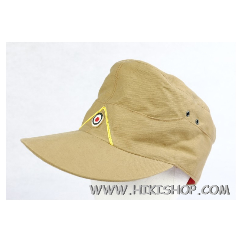 WWII German LW Tropic Field Cap EM Tan