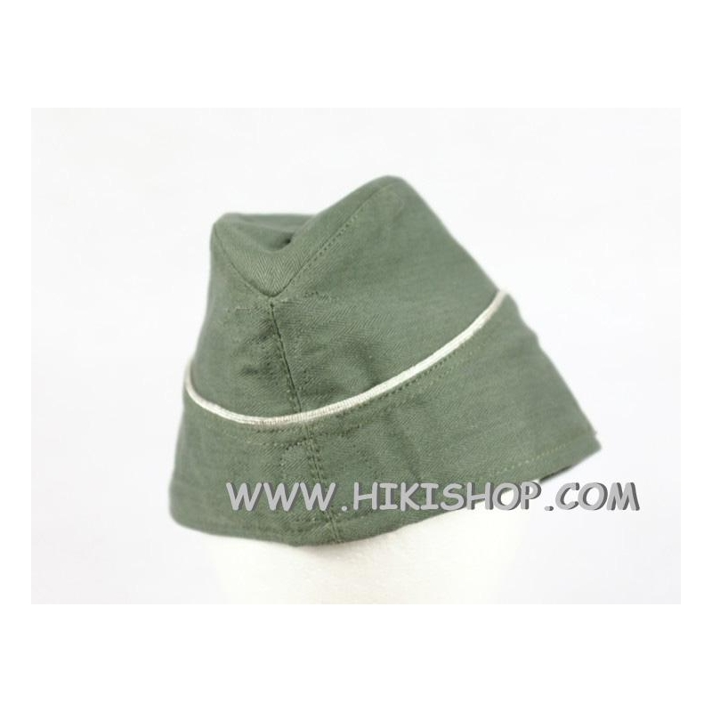 WWII German Elite HBT M40 Side Cap Officer