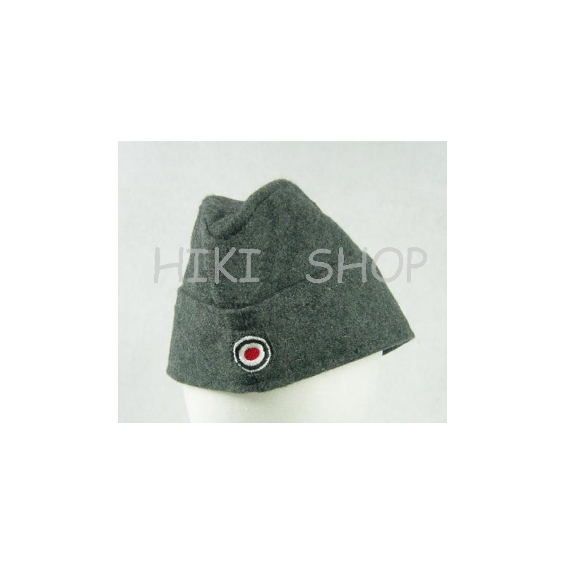 WWII German LW Side Cap EM Soldier Wool