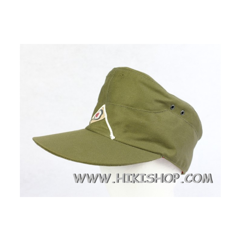 WWII German DAK Field Cap EM Green