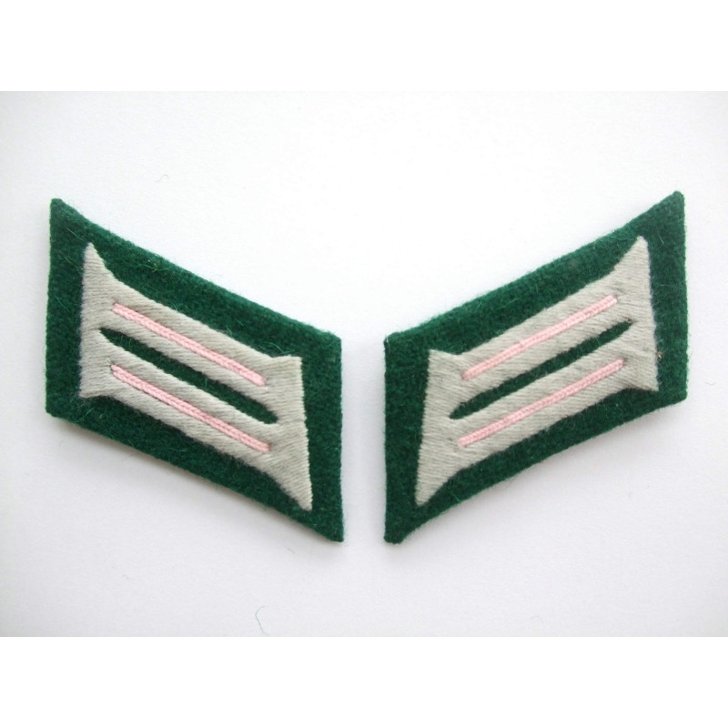 WW2 German Heer Panzer Officer Collar Tabs