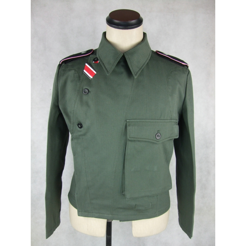 WWII German WH Assault Gun HBT Wrapper Tunic