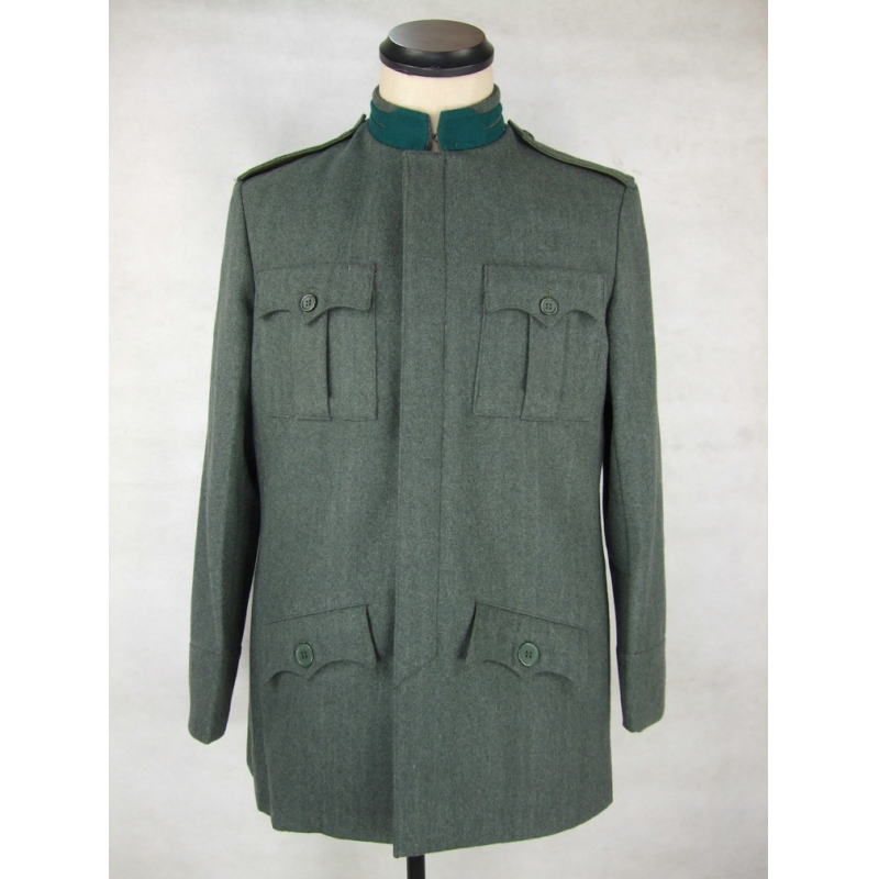 WW1 Italy Grey Green Wool Tunic Giubba Officer