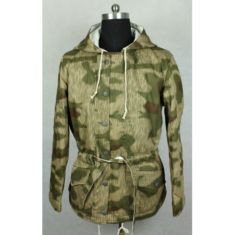 WWII World War 2 German Tan & Water Camo Reversible Winter Parka