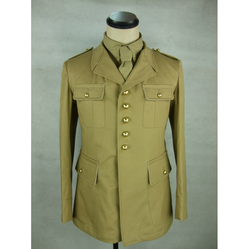 WW2 France French Colonial M38 Officer Jacket Khaki