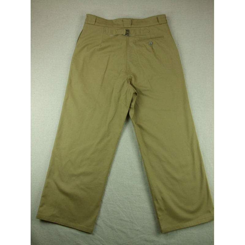 WW2 France French Colonial M38 Officer Pants Trousers Khaki - $49 99