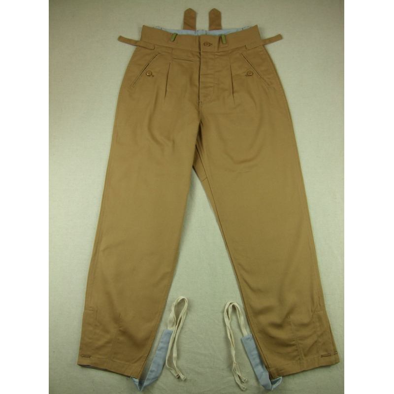 WWII German Elite Afrikakorps Combat Trousers Pants