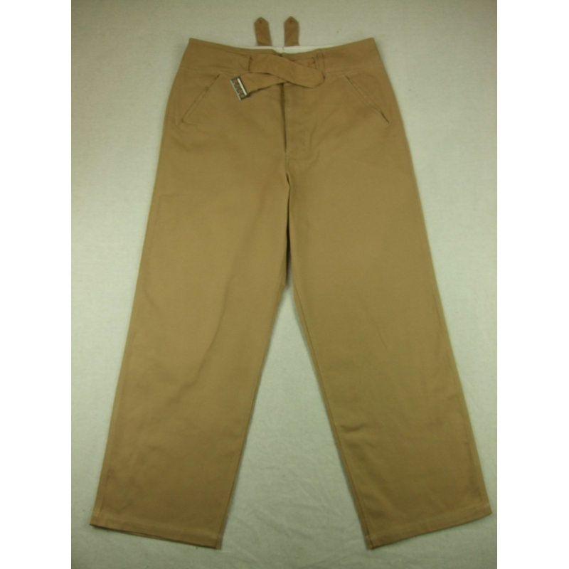 WWII German DAK Afrikakorps Field Trousers Pants Sand