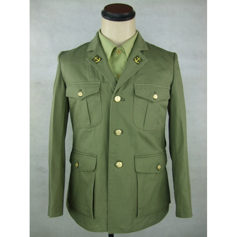 WWII Japanese Navy Marine IJM Landing Force Tunic Jacket