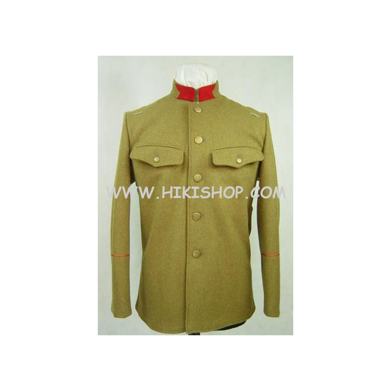 WW2 IJA Taisho 45 T45 Wool Tunic With EM Collar Tab