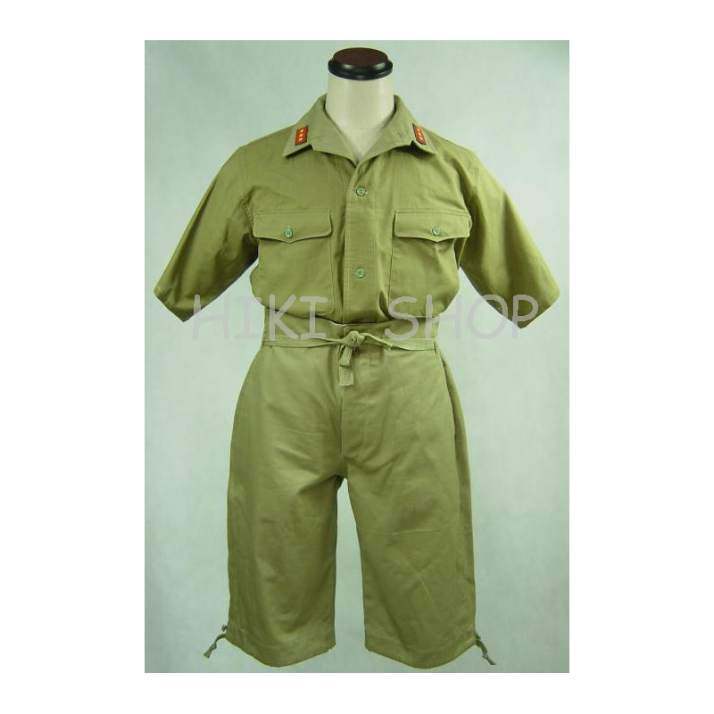 WWII japanese army IJA tropic half Shirt & shorts