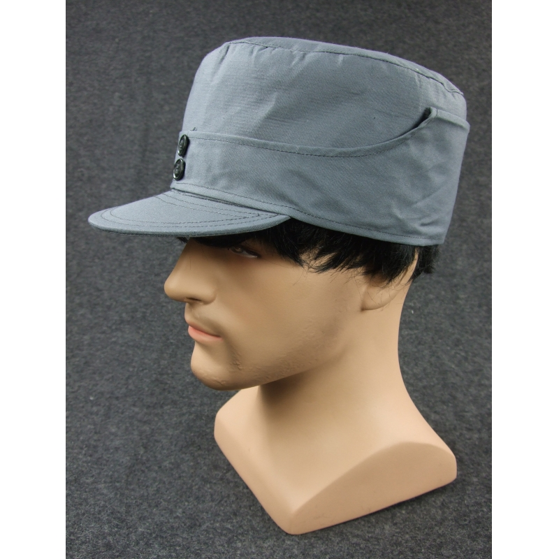 WWII China KMT Enlisted Soldier Field Cap Grey