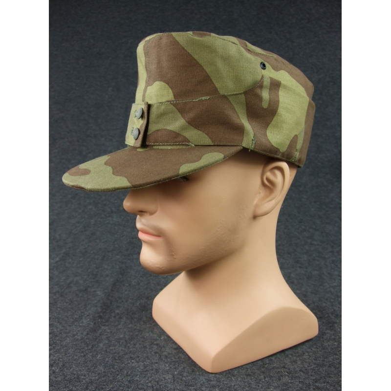 WWII German Elite Mountain Troops Italy Camo Field Cap