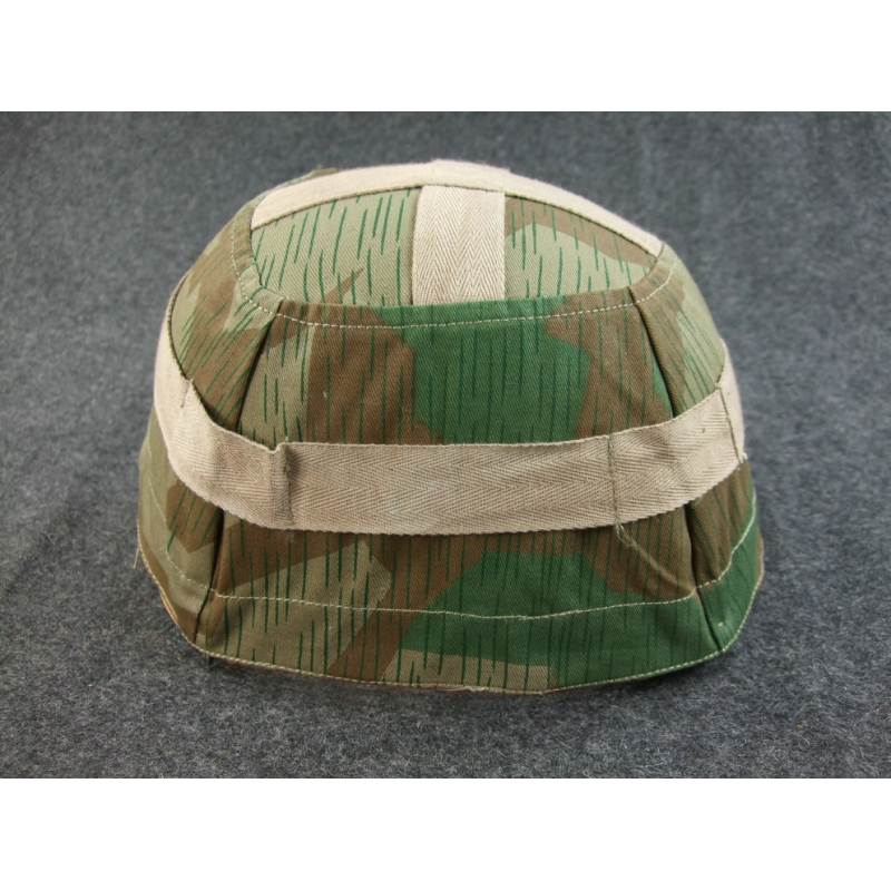 WWII German M38 Paratrooper Splinter Camo Helmet Cover