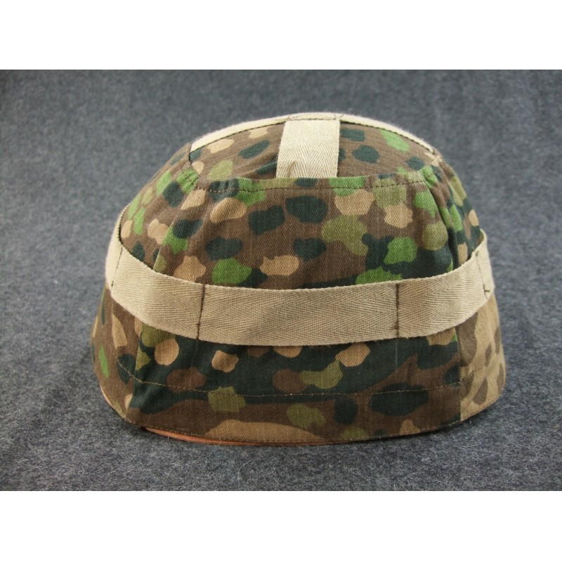 WWII German M38 Paratrooper Dot 44 Camo Helmet Cover
