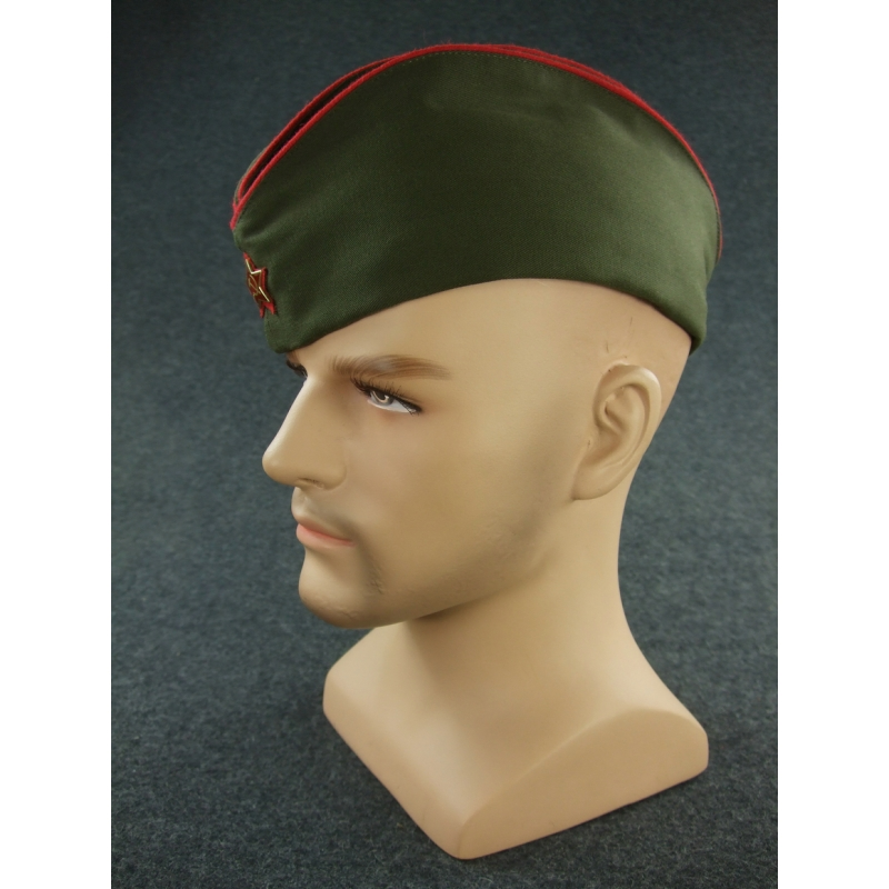 WW2 Soviet Red Army Artillery Officer M35 Gabardine Side Cap R